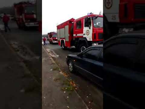 В городе Луцке произошло масштабное ДТП