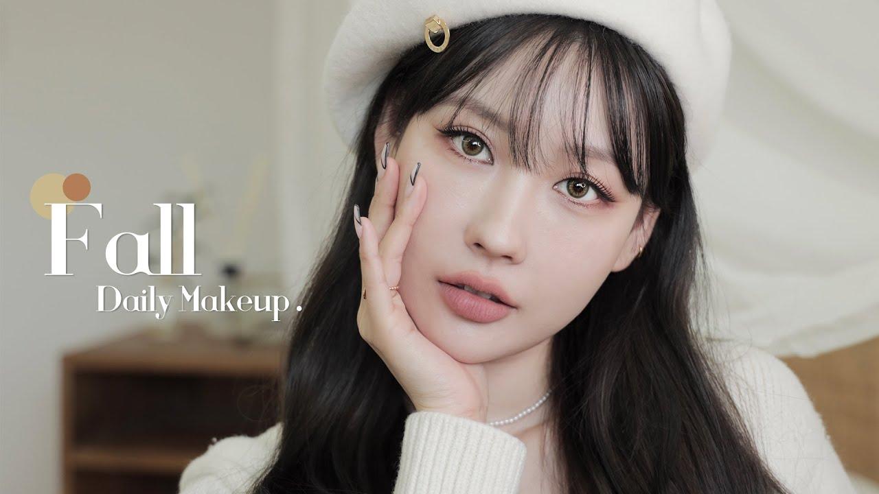 [Eng] 로드샵 위주! 청순 가을 데일리 메이크업🍂 + 환절기 팁💫 l 이사배(RISABAE Makeup)