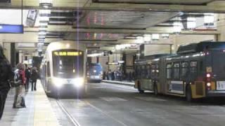 Seattle bus/train rush hour Part 2: Westlake Station (2x)