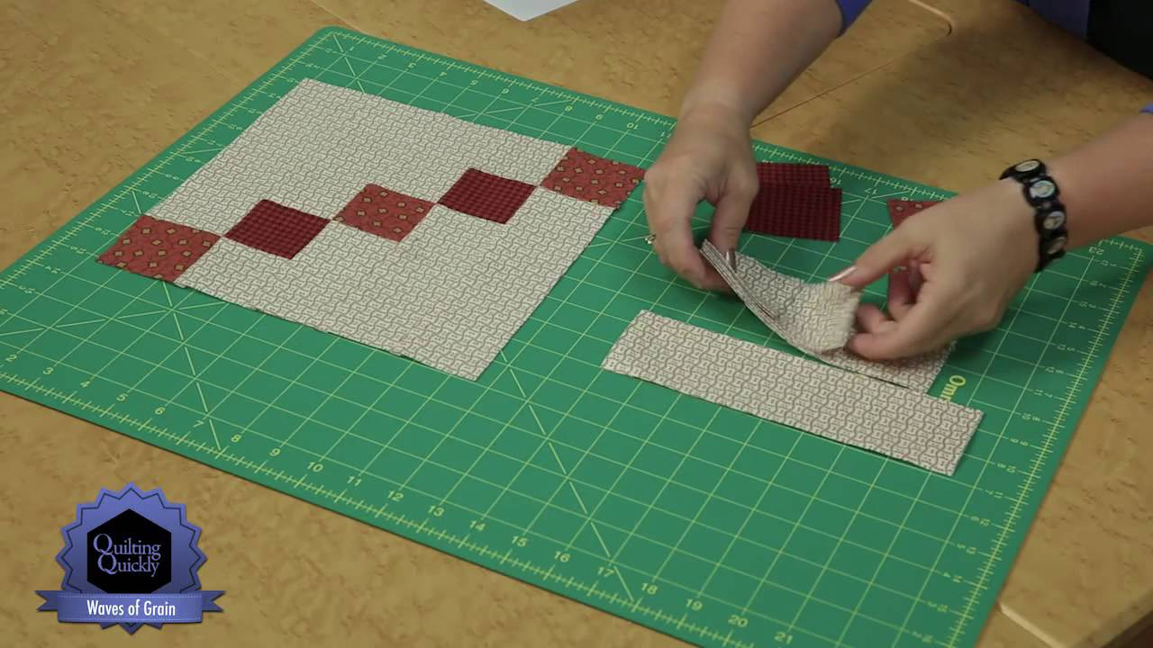 Quilting Quickly: Waves of Grain - Make a Lovely Quilt with ... : flannel quilt fabric - Adamdwight.com
