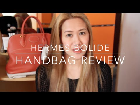 Handbag Review - Herm¨¨s Bolide 35cm - YouTube