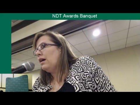 2016 NDT - Awards Banquet