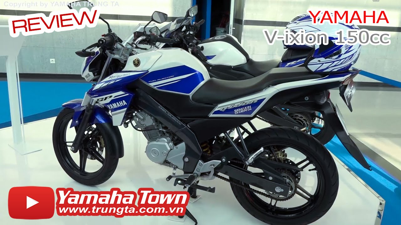 Yamaha V-ixion 150cc GP Indonesia Review Tổng Quan Bên