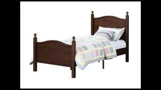 Dorel Asia Bed Frame, Twin, Espresso