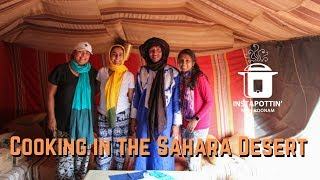 Cooking a tagine in the Sahara Desert with Bobo   Episode 71