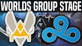 VIT vs C9 - Worlds 2018 Group Stage Day 2 - Vitality vs Cloud9 - Worlds 2018 Group Stage Day 2