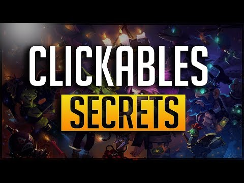 [ Hearthstone ] Clickables And Secrets you may or may not know