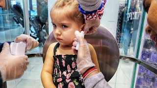 Download TWO YEAR OLDS GET THEIR EARS PIERCED Mp3 and Videos