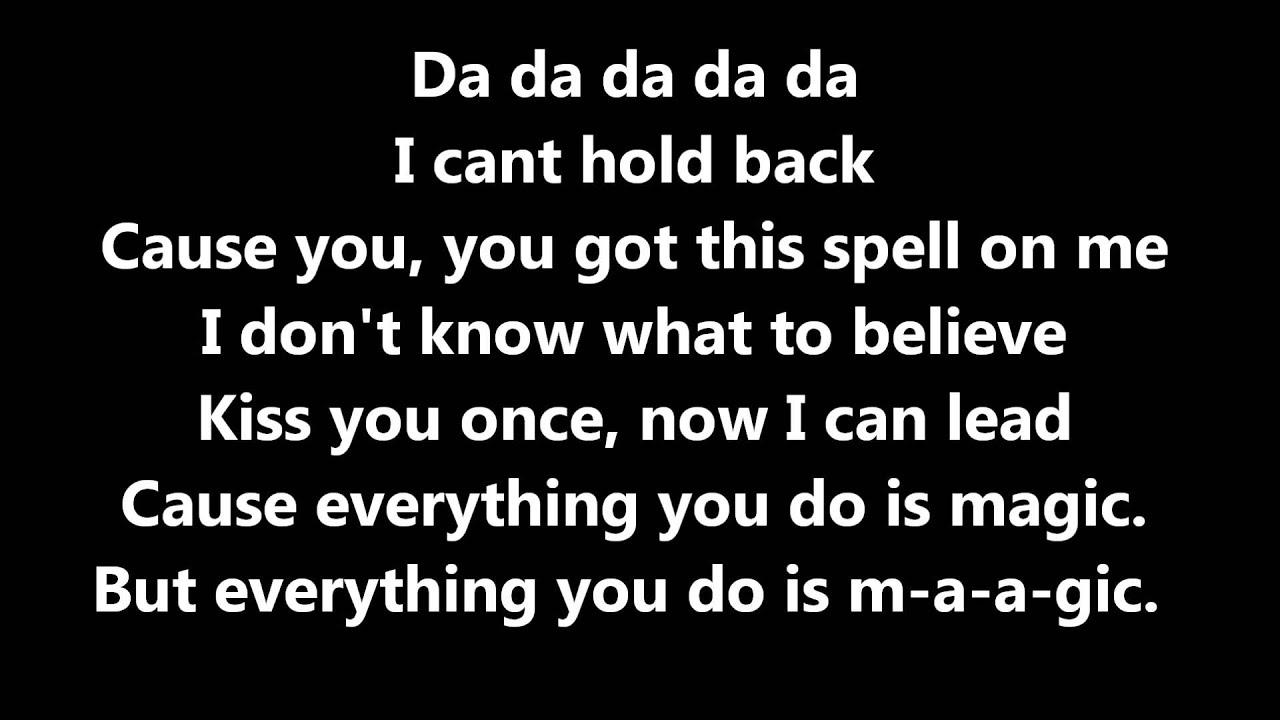 This is magic lyrics