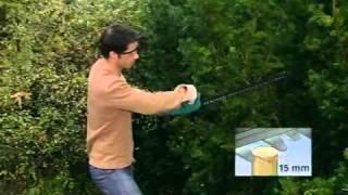 видео Кусторез Bosch AHS 52 Li