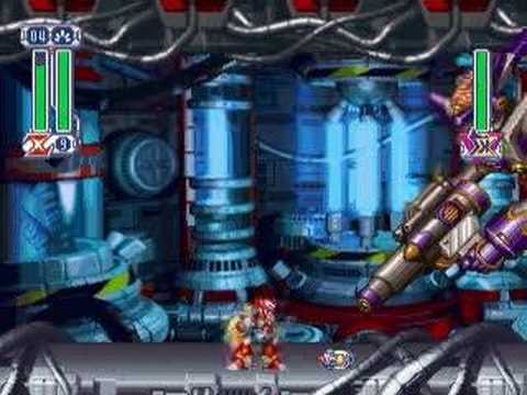 Megaman X4 : Zero vs Sigma (all forms)