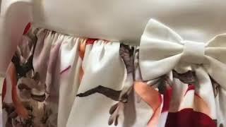видео Комбинезоны для новорожденных девочек