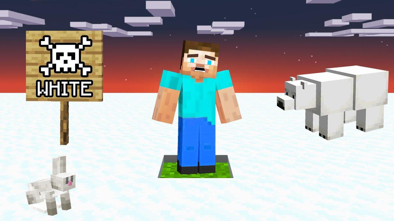Download Minecraft but Touch White = DIE!
