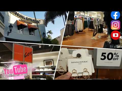 Shopping In BANANA REPUBLIC Factory Store|Florida