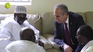 Visite d'adieu de l'ambassadeur de la Turquie auprès du Khalif Général des Mourides