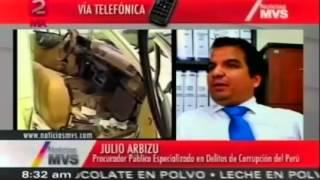 #LauraBozzo fue parte de una red criminal de corrupción en Perú - Procurador en MVS
