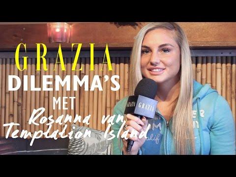 Dilemma's met Rosanna uit Temptation Island