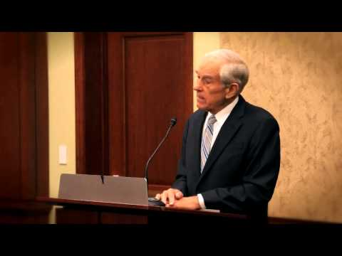 "Ron Paul Lecture - ""The Great Enabler: The Rise of the Federal Reserve and the Growth of Government"""