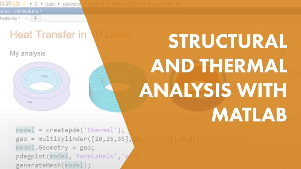 Structural and Thermal Analysis with MATLAB