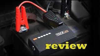 TACKLIFE T6 Car Jump Starter   600A Peak 16500mAh review