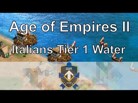 Aoe2: Italians Tier 1 (DauT vs Liereyy) - Euro Cup B Finals #2