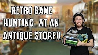 Retro Game Hunting at Antique Store