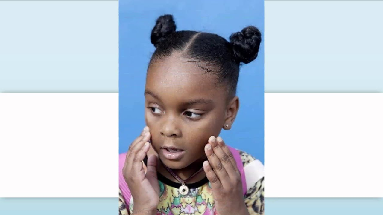 16 Cute Natural Hairstyles For Kids Awesome Style