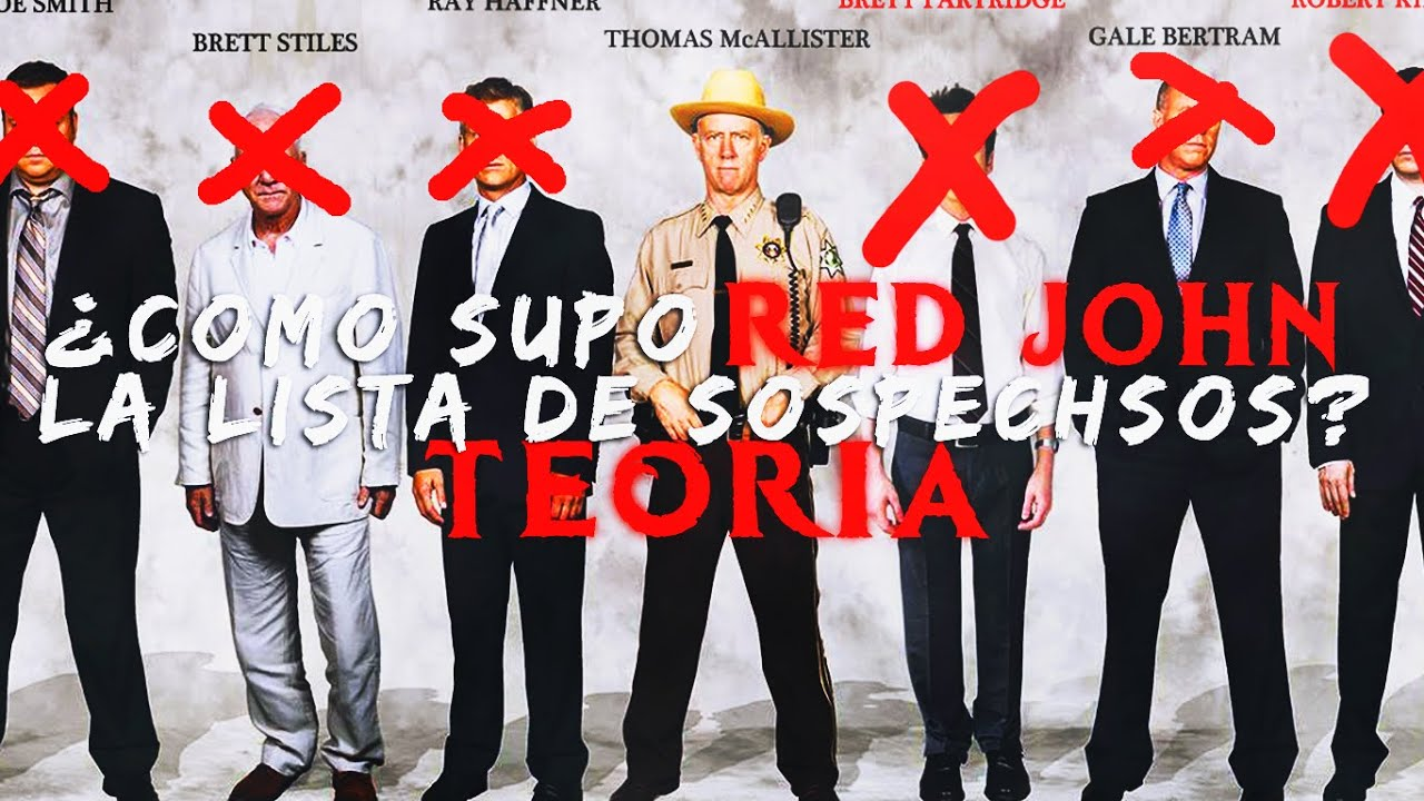 Como Supo Red John La Lista De Sospechosos Teoría El Mentalista The Cinemania Youtube