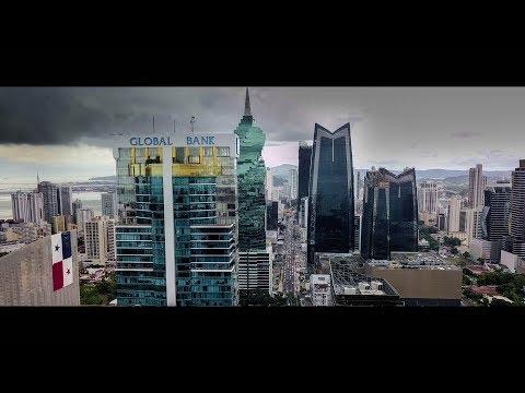 Aerial Panama City DJI mavic pro 1