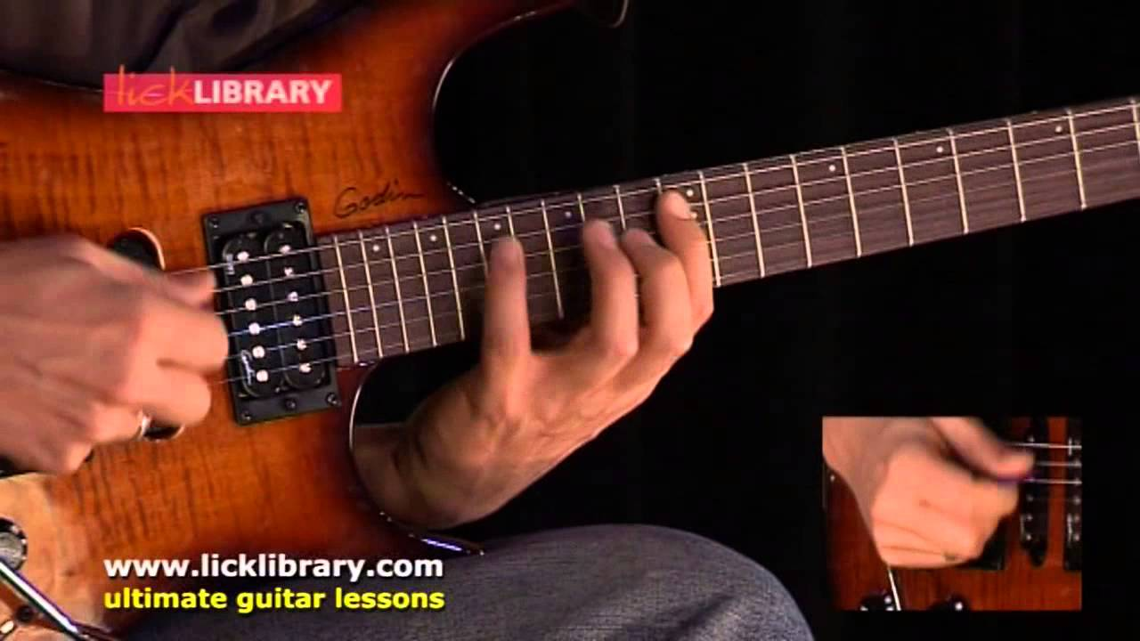 Valuable lick library jazz