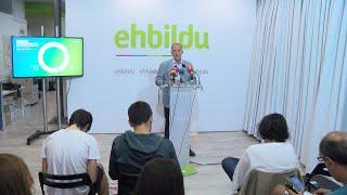 EH Bildu apoya la abstención en la investidura de María Chivite