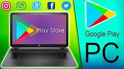 como DESCARGAR PLAY STORE para PC 2020 | GOOGLE PLAY para WINDOWS 7, 8, 10
