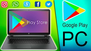 como DESCARGAR PLAY STORE para PC 2020 | GOOGLE PLAY para WINDOWS 7, 8, 10