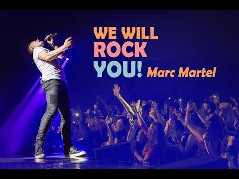 We Will Rock You - Queen Show Marc Martel