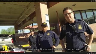 u s mexico border port of entry first amendment test lukeville arizona civil disobedience
