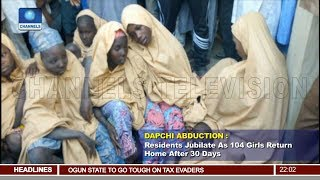 Dapchi Abduction Update 104 Students Returned By Boko Haram