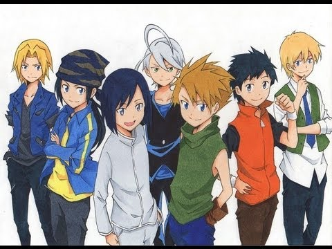 gay anime boys Digimon