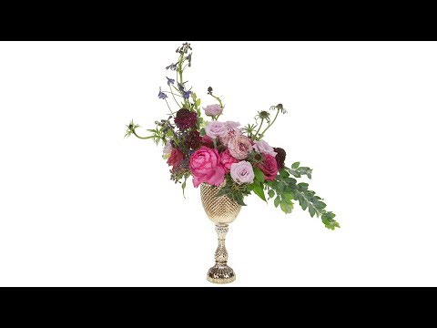 Tall Compote Centerpiece