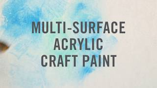 Martha Stewart Multi-Surface Acrylic Craft Paint