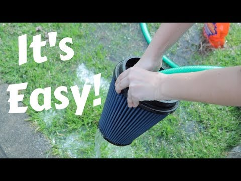 How to clean a cold air intake