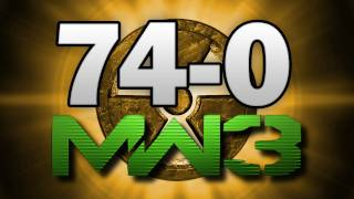 mw3 74 0 gameplay m o a b nuke flawless call of duty modern warfare 3 multiplayer