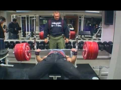 Magnus Samuelsson Bench Press 270kg 595lb x 2