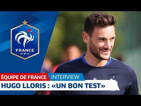 """Equipe de France, Lloris : """"Un bon test"""""""