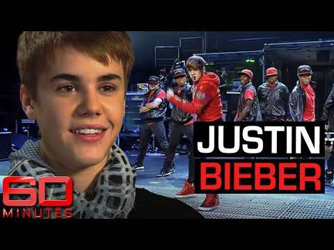 Early interview 17-year-old Justin Bieber | 60 Minutes Australia. http://bit.ly/2WkeeRs