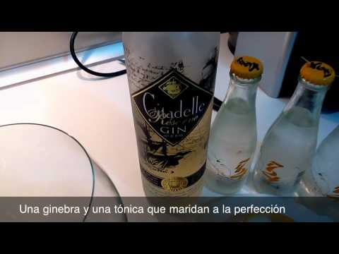 Gin Tonic de Citadelle Reserve Con 1724, canela y naranja