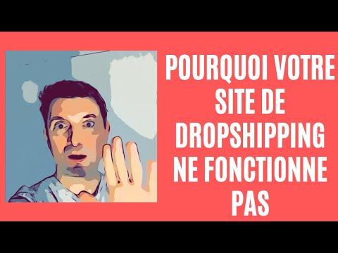 Pourquoi Votre Site de Dropshipping ne Fonctionne pas