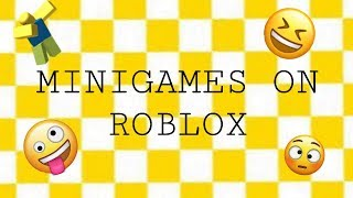 MiniGames in Roblox! - Reality Playground