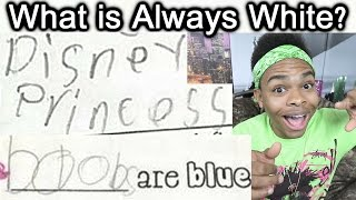 FUNNIEST KID TEST ANSWERS PART 9