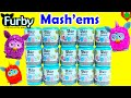 Furby Mashems Full Set Super Squishy Fun