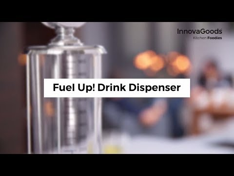 InnovaGoods Kitchen Foodies Fuel Up! Drinks Dispenser